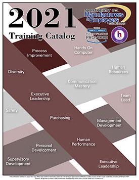 2021 Trainig Catalog cover